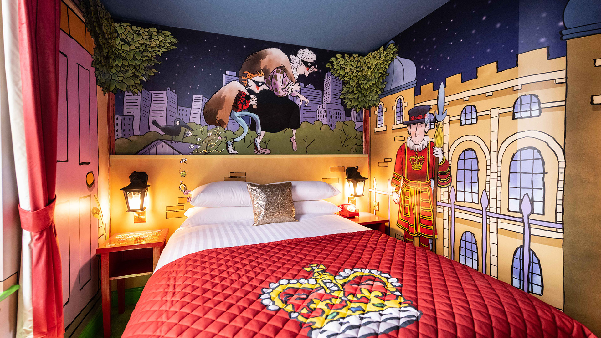 Gangsta Granny The Room - Alton Towers Hotel