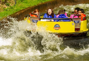 Congo River Rapids Wave