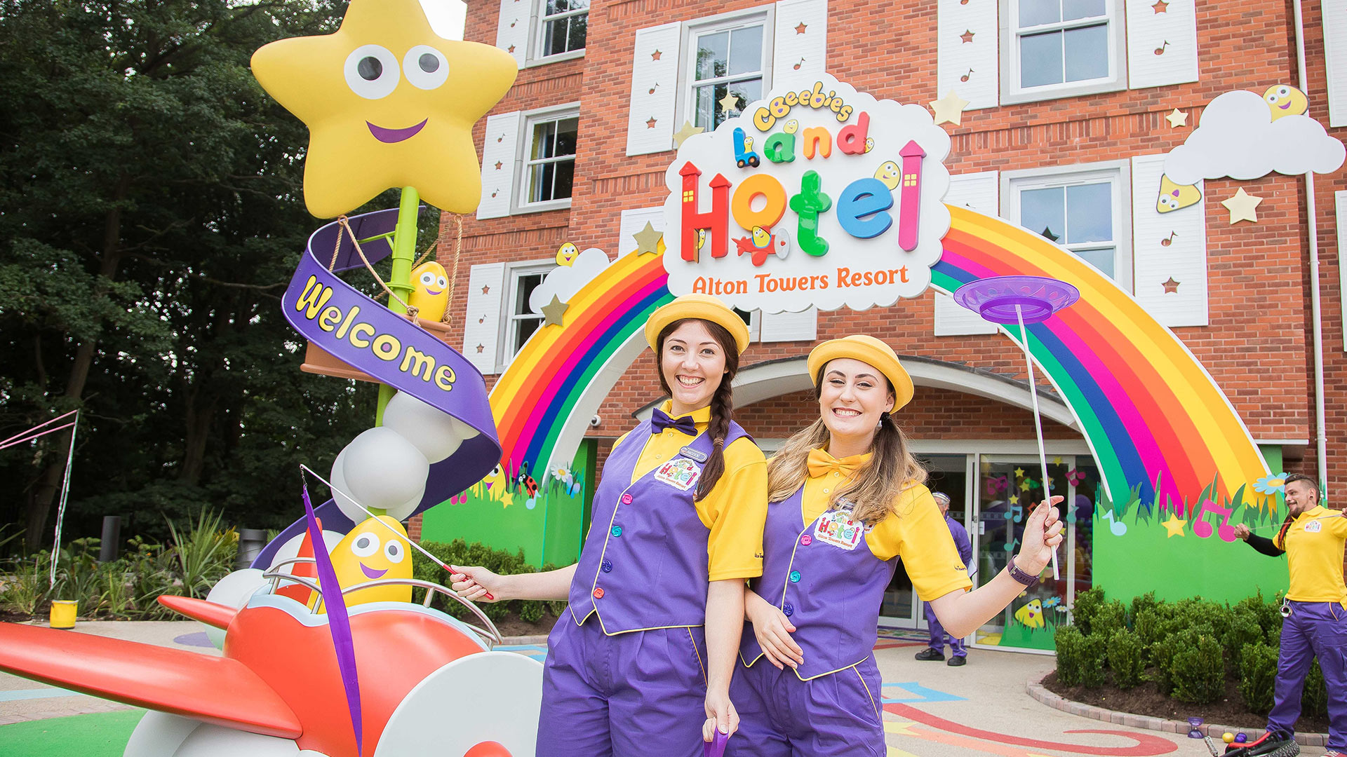 Cbeebies Land Hotel Exterior